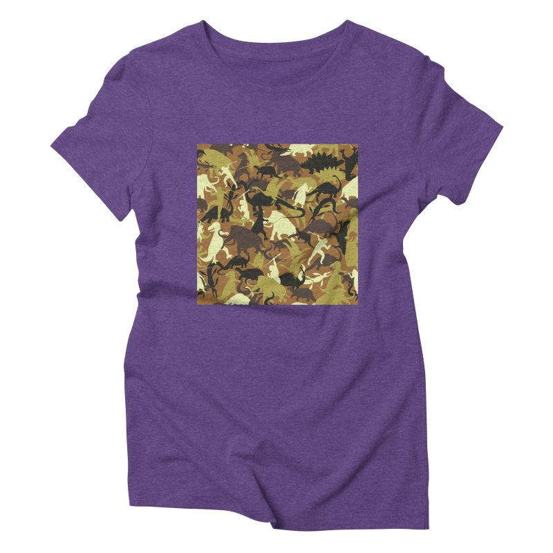 Hunting season Women's Triblend T-Shirt by delcored