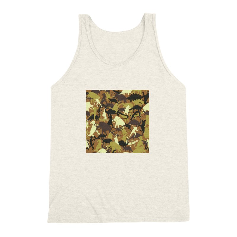 Hunting season Men's Triblend Tank by delcored