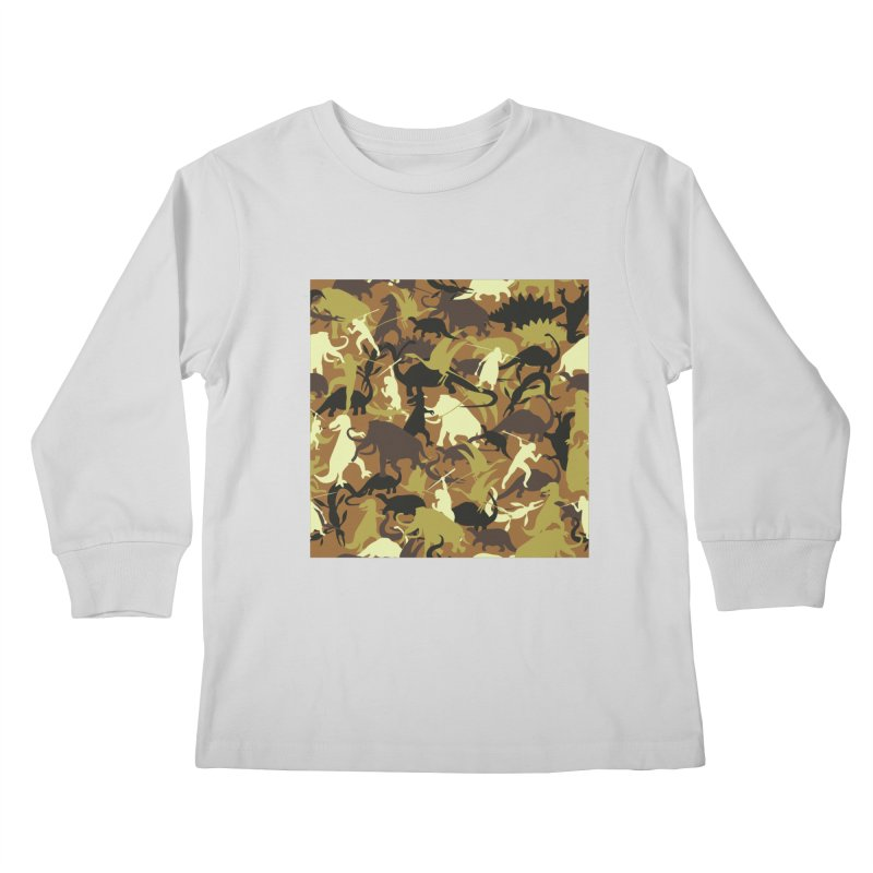 Hunting season Kids Longsleeve T-Shirt by delcored