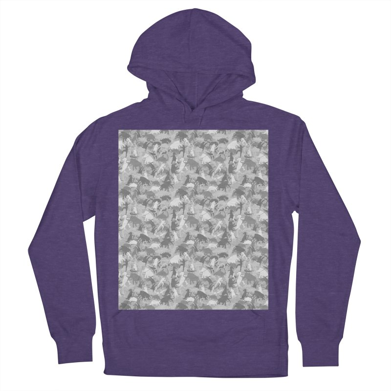 camos grey Men's Pullover Hoody by delcored