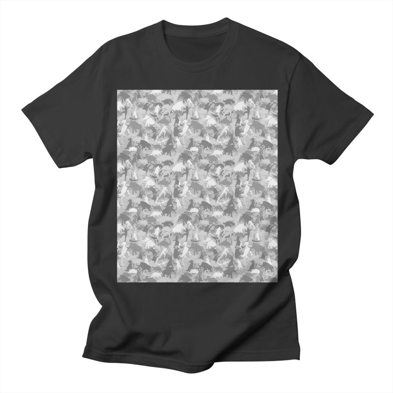 camos grey Men's T-Shirt by delcored