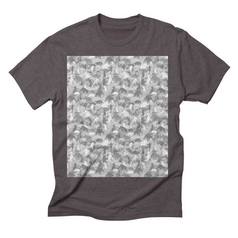 camos grey Men's Triblend T-Shirt by delcored