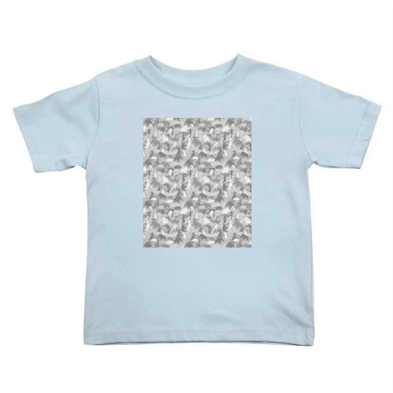 camos grey Kids Toddler T-Shirt by delcored