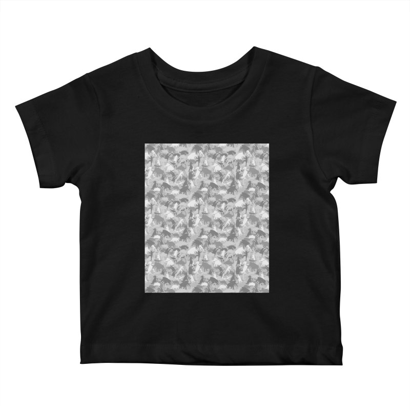 camos grey Kids Baby T-Shirt by delcored