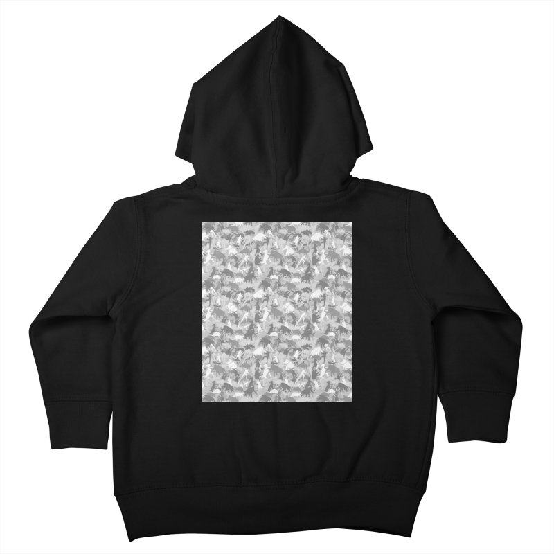 camos grey Kids Toddler Zip-Up Hoody by delcored