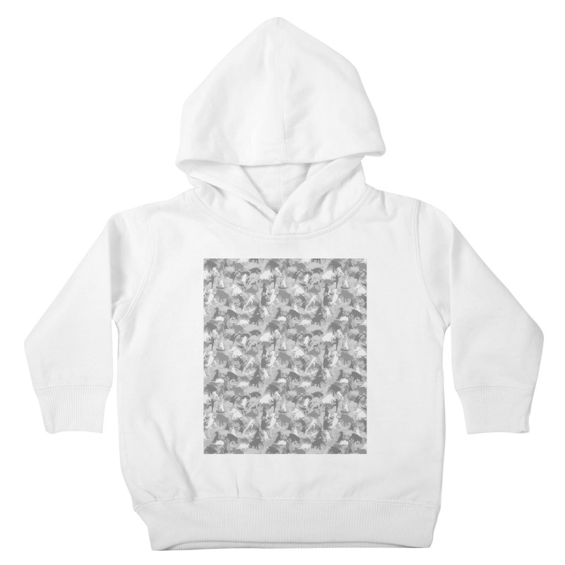 camos grey Kids Toddler Pullover Hoody by delcored