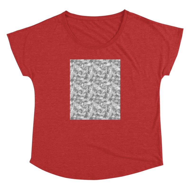 camos grey Women's Dolman by delcored