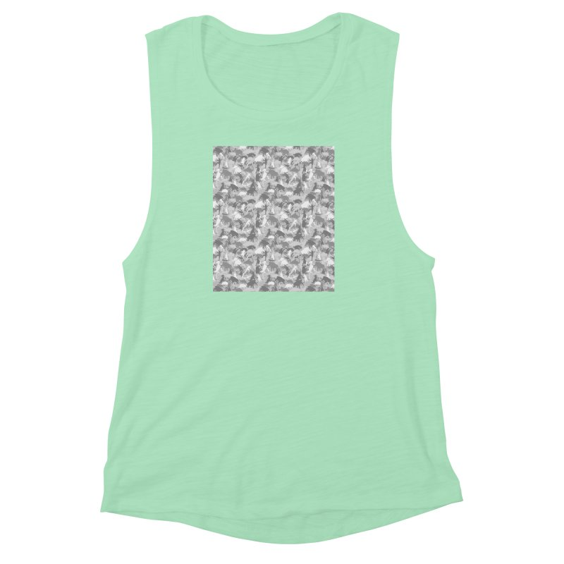 camos grey Women's Muscle Tank by delcored