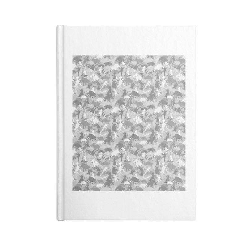 camos grey Accessories Notebook by delcored