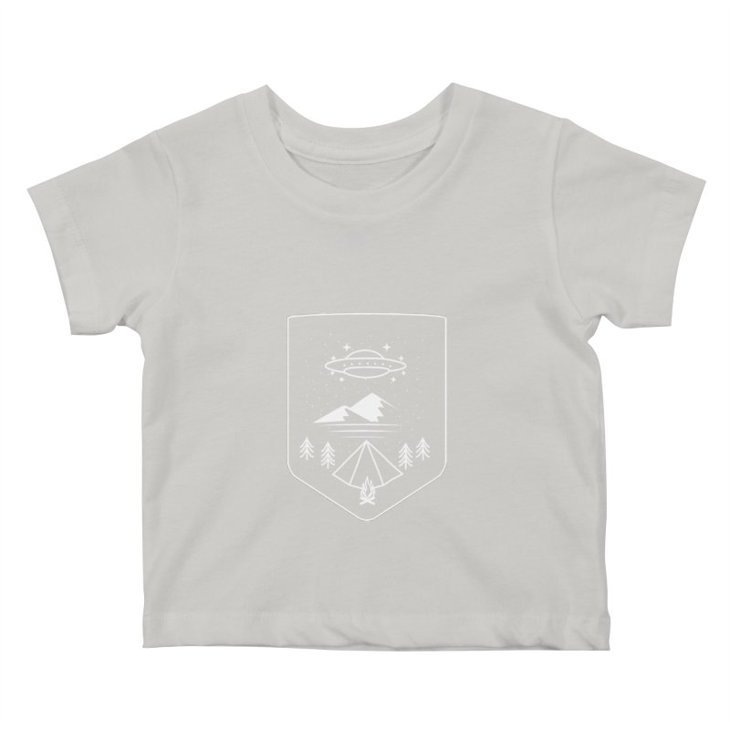 Unidentified Winter Camp Kids Baby T-Shirt by delcored