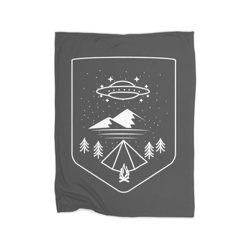 Unidentified Winter Camp Home Blanket by delcored