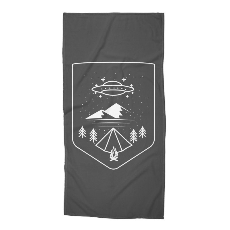 Unidentified Winter Camp Accessories Beach Towel by delcored