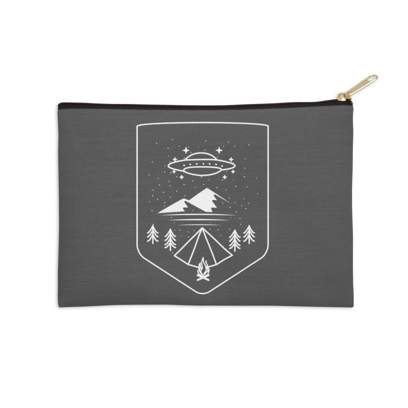 Unidentified Winter Camp Accessories Zip Pouch by delcored
