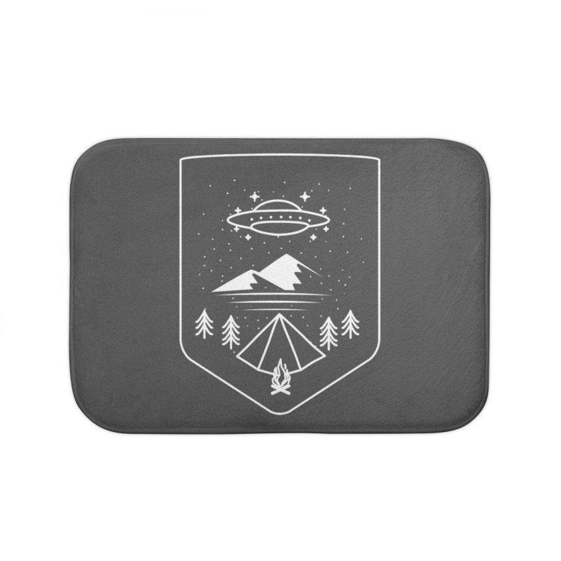 Unidentified Winter Camp Home Bath Mat by delcored