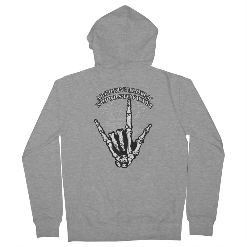 "Supernatural Ouija board spell your deepest "" Would U' Be Mine ""... Men's Zip-Up Hoody by delcored"