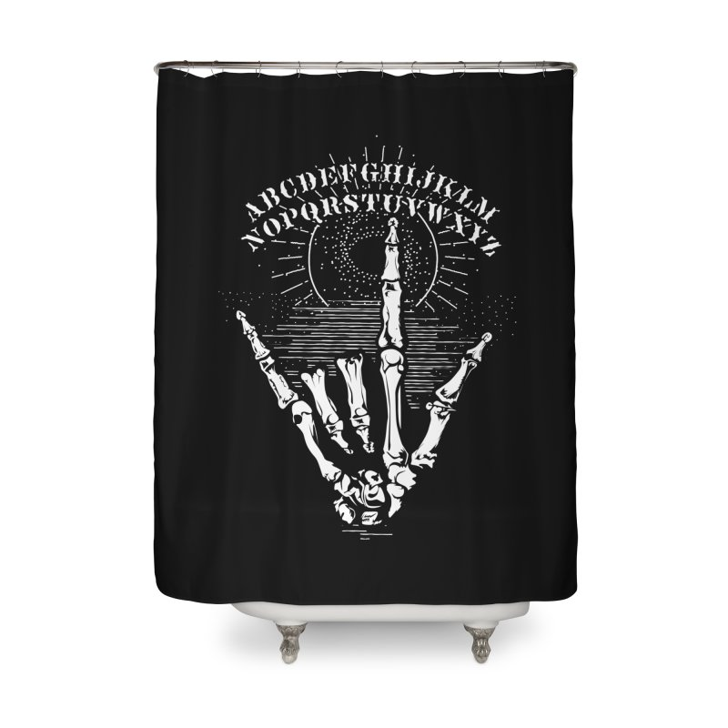 """Supernatural Ouija board spell your deepest """" Would U' Be Mine """"... Home Shower Curtain by delcored"""