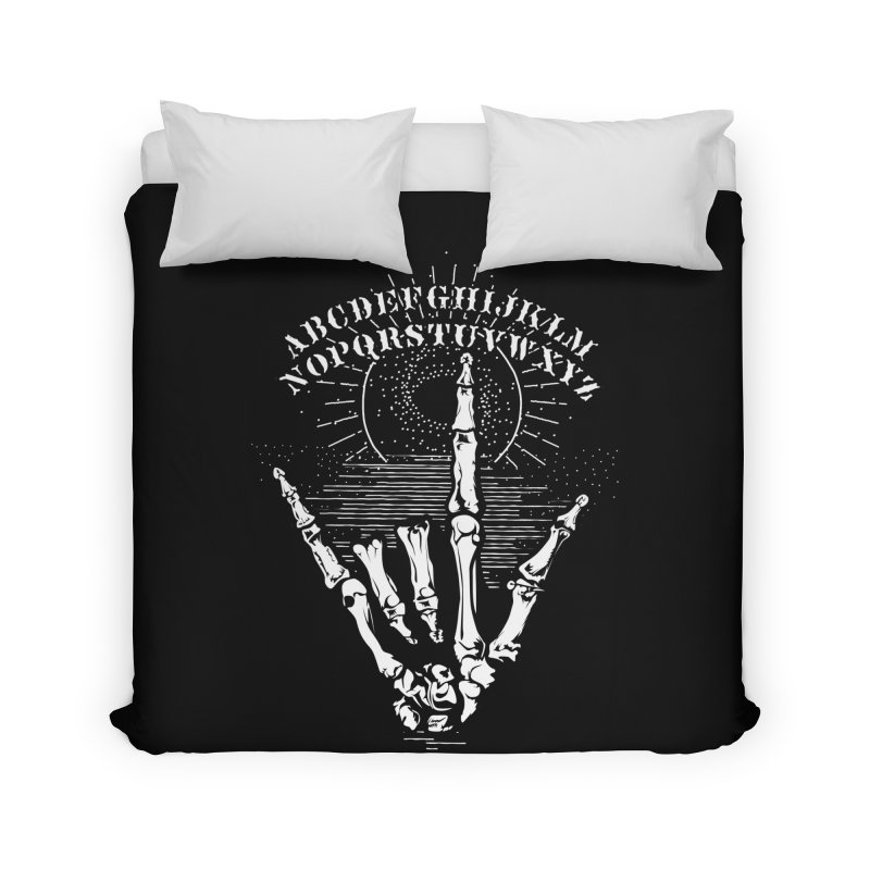 "Supernatural Ouija board spell your deepest "" Would U' Be Mine ""... Home Duvet by delcored"