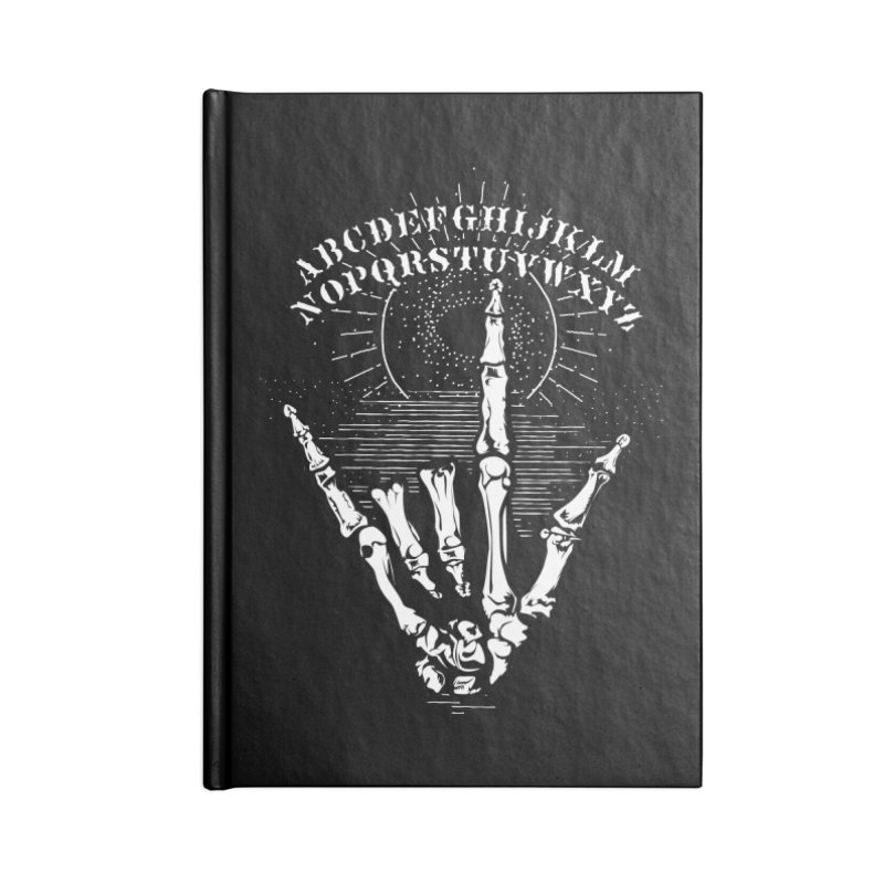 """Supernatural Ouija board spell your deepest """" Would U' Be Mine """"... in Blank Journal Notebook by delcored"""