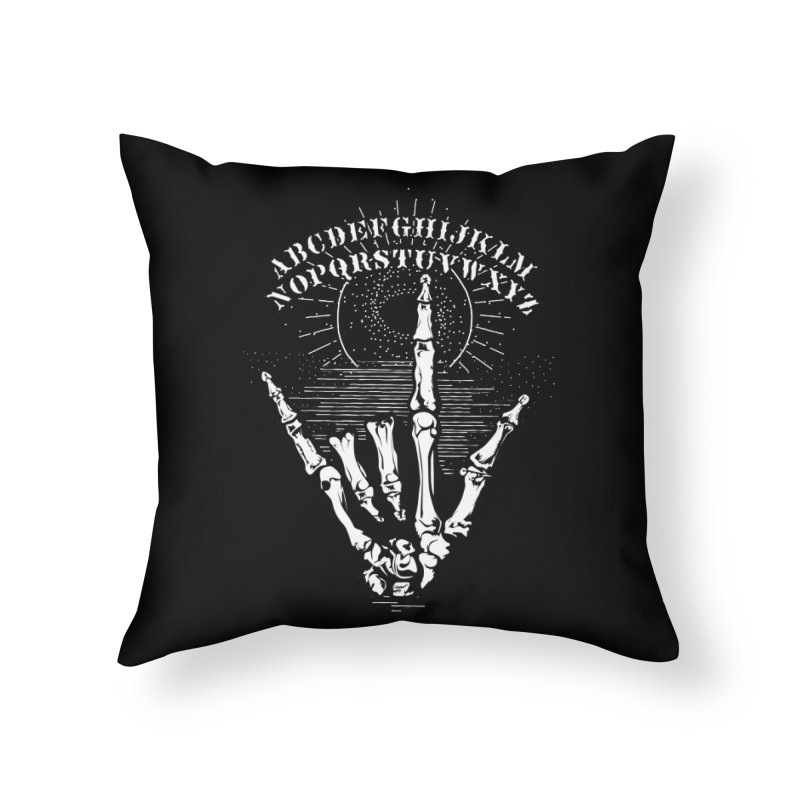 "Supernatural Ouija board spell your deepest "" Would U' Be Mine ""... Home Throw Pillow by delcored"
