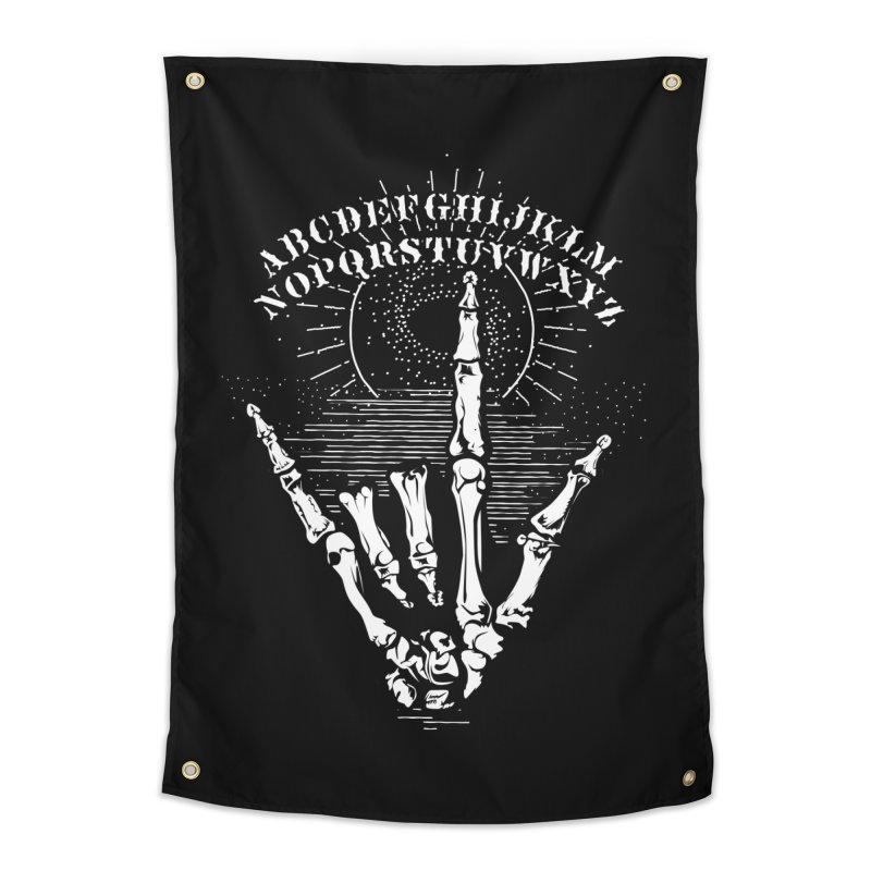 "Supernatural Ouija board spell your deepest "" Would U' Be Mine ""... Home Tapestry by delcored"