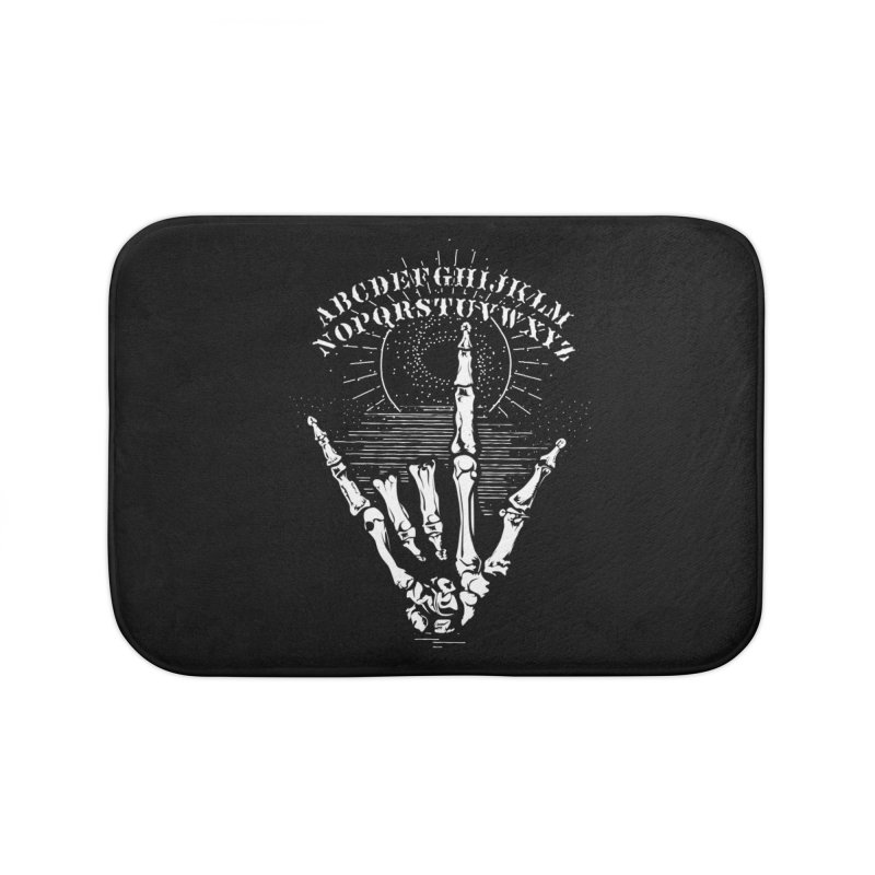 """Supernatural Ouija board spell your deepest """" Would U' Be Mine """"... Home Bath Mat by delcored"""