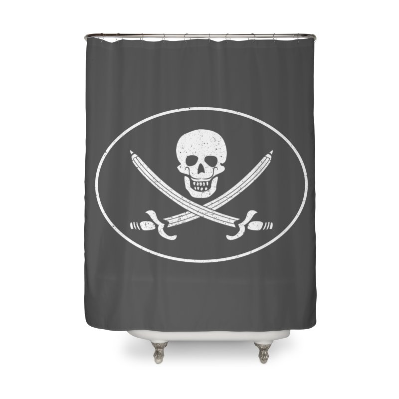 pirateart Home Shower Curtain by delcored