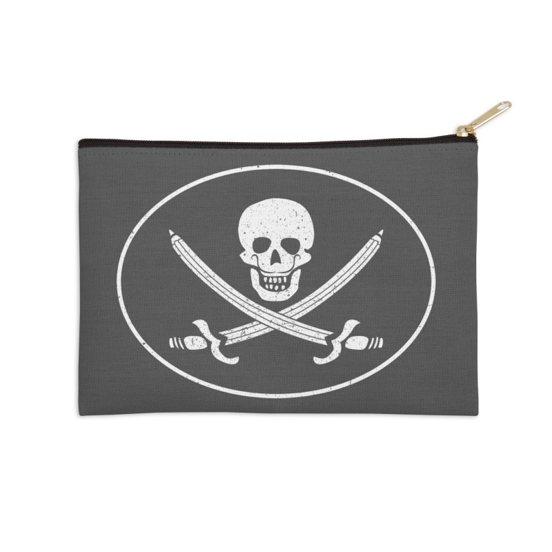pirateart Accessories Zip Pouch by delcored