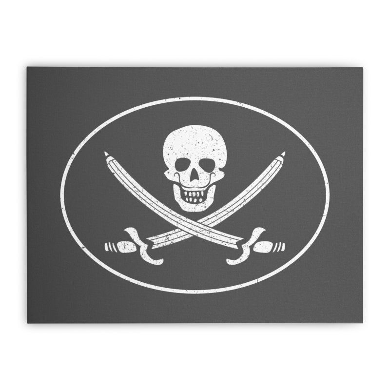 pirateart Home Stretched Canvas by delcored