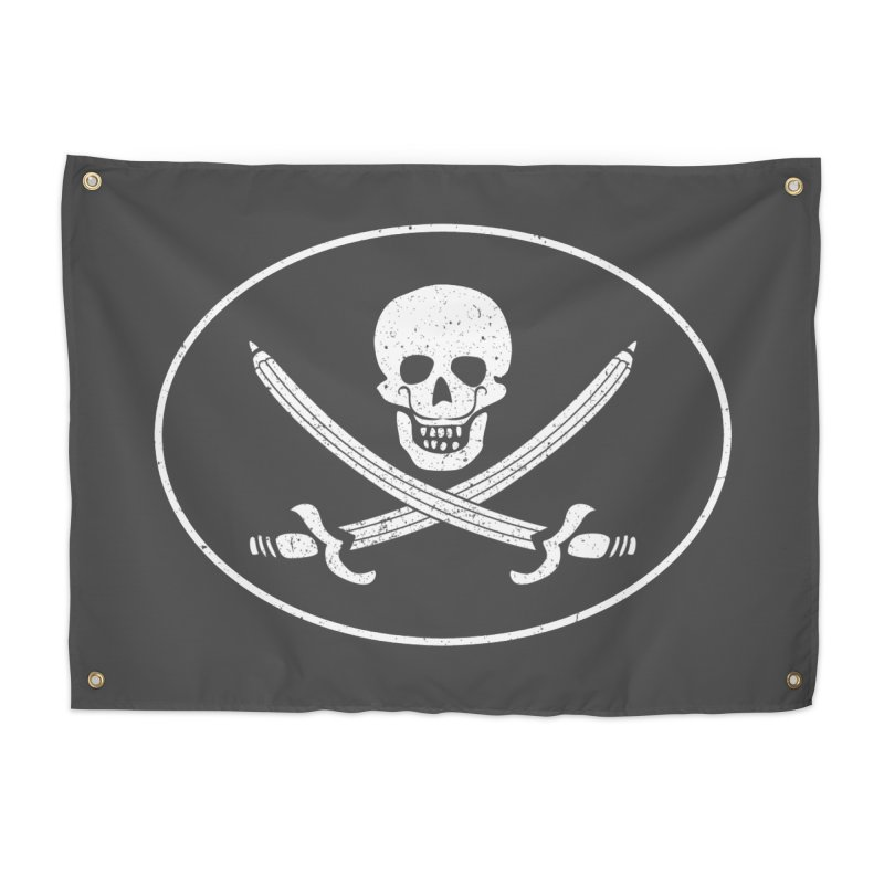 pirateart Home Tapestry by delcored