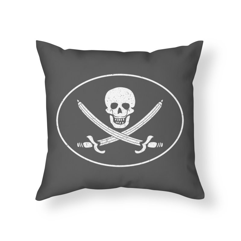 pirateart Home Throw Pillow by delcored
