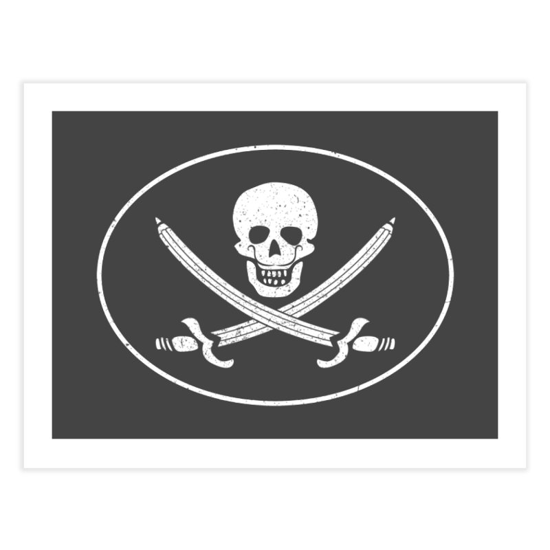pirateart Home Fine Art Print by delcored