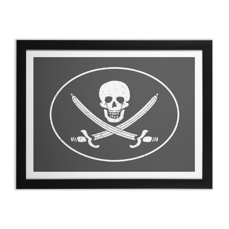 pirateart Home Framed Fine Art Print by delcored