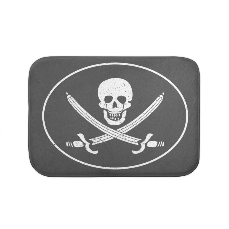 pirateart Home Bath Mat by delcored