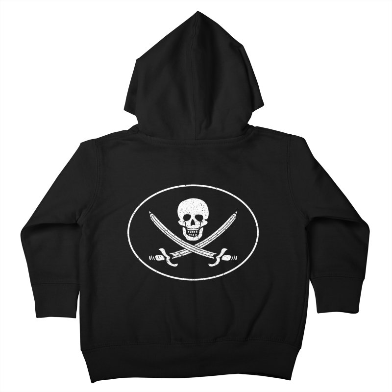 pirateart Kids Toddler Zip-Up Hoody by delcored