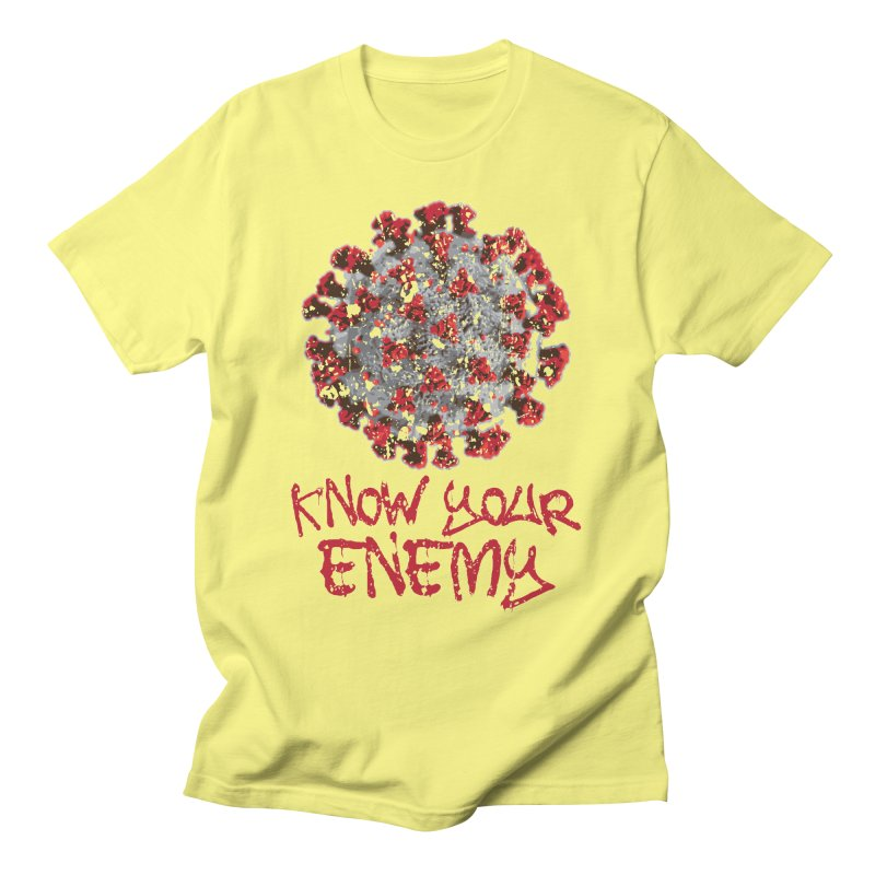 COVID is the ENEMY Men's T-Shirt by Delete Designs