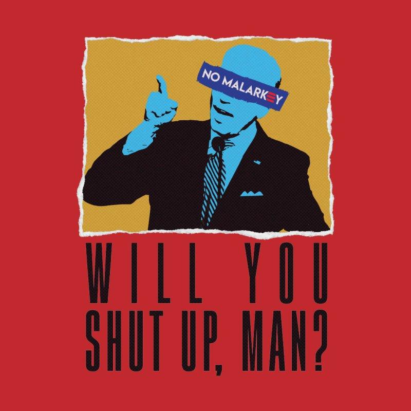 No Malarkey Men's T-Shirt by Delete Designs