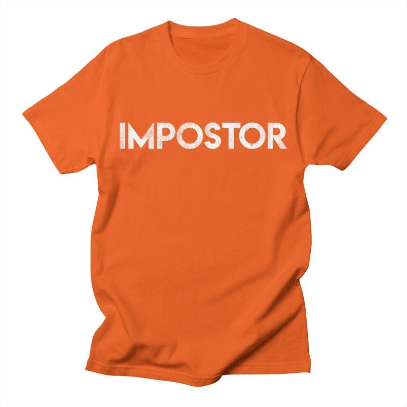 Impostor Men's T-Shirt by Delete Designs