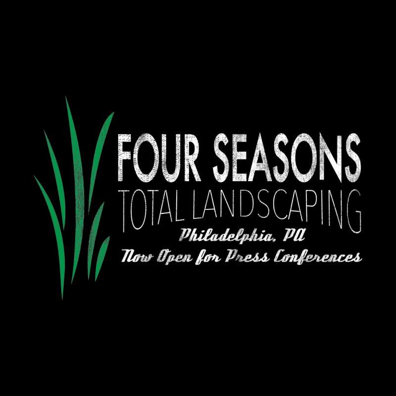 Four Seasons Landscaping & Press Conferences Men's T-Shirt by Delete Designs
