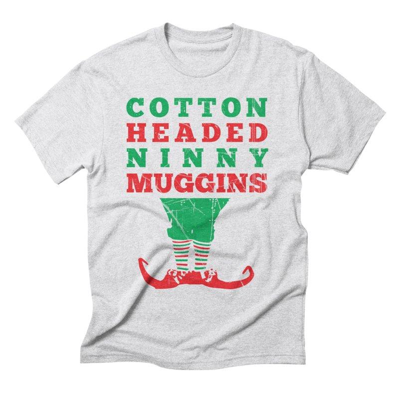 Cotton Headed Ninny Muggins Men's T-Shirt by Delete Designs