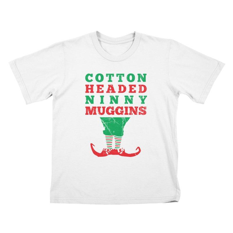 Cotton Headed Ninny Muggins Kids T-Shirt by Delete Designs