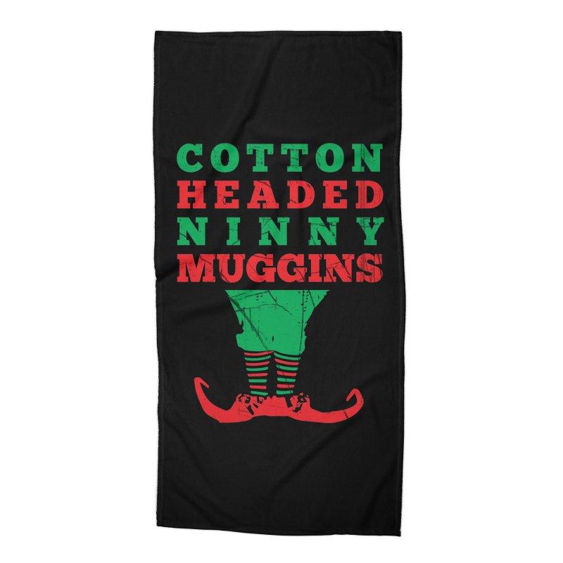 Cotton Headed Ninny Muggins Accessories Beach Towel by Delete Designs