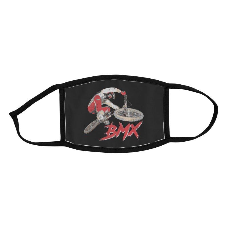 BMX Pistol Fire Accessories Face Mask by Delete Designs