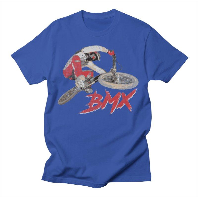 BMX Pistol Fire Men's T-Shirt by Delete Designs