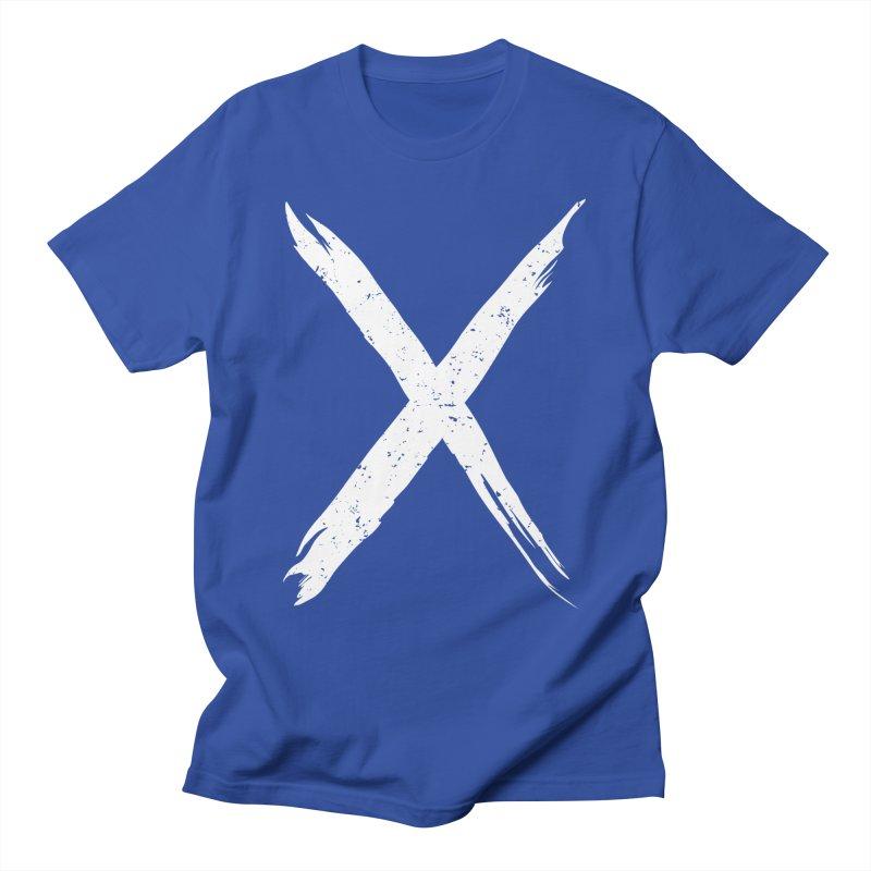 X Marks The Spot Men's T-Shirt by Delete Designs