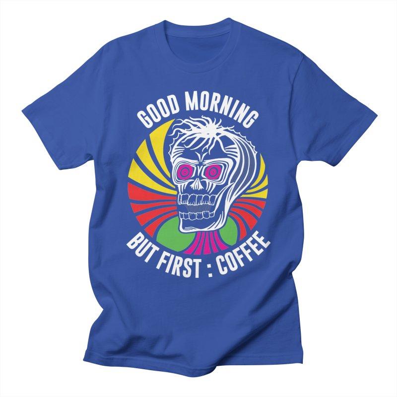 Good Morning Men's T-Shirt by Delete Designs