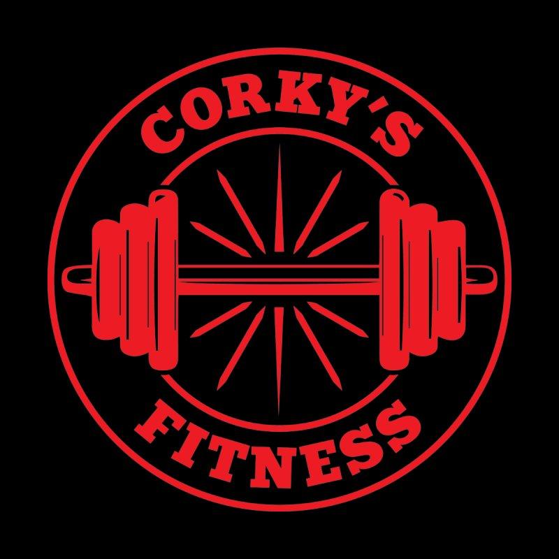 Corky's Fitness Men's Tank by Delete Designs