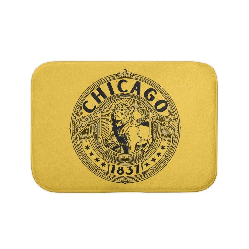 Chicago 1837 Home Bath Mat by Delicious Design League