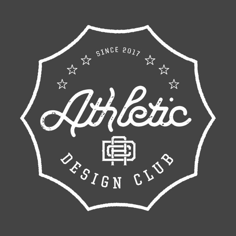 Athletic Design Club Logo Men's V-Neck by Delicious Design League