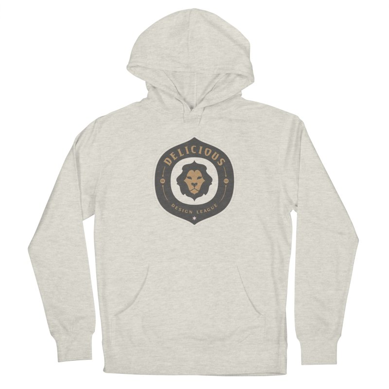 Classic DDL Logo Men's Pullover Hoody by Delicious Design League