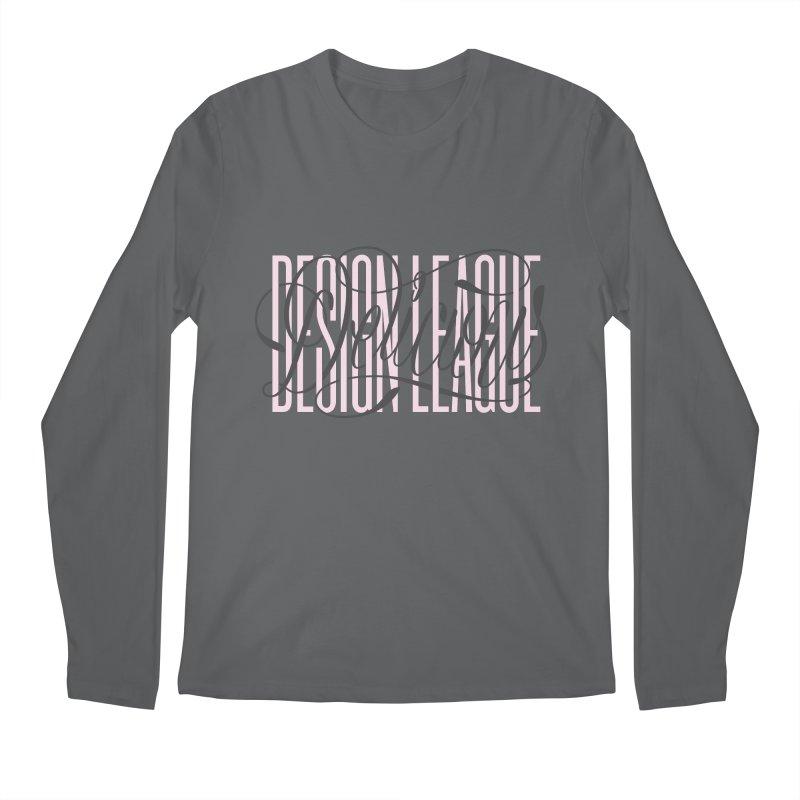 DDL Intertwined Script Logo Men's Longsleeve T-Shirt by Delicious Design League